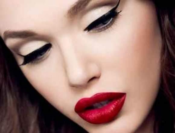 maquillaje y mechas en el salon carolina´s