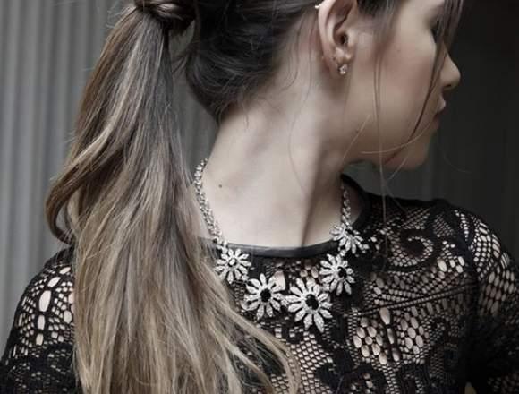 peinados y maquillaje en el salon carolina´s
