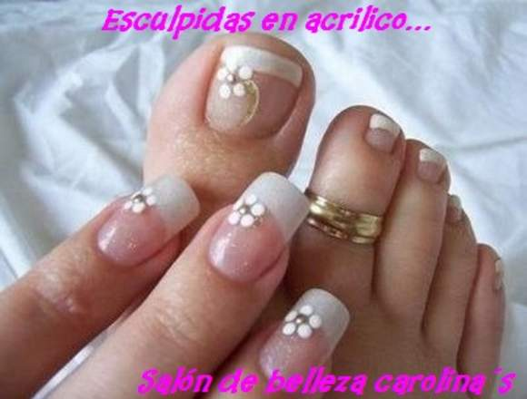 UÑAS ESCULPIDAS Salon Carolina's