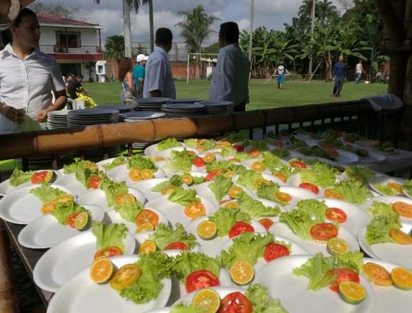Servicio de alimentación, alta cocina para Eventos