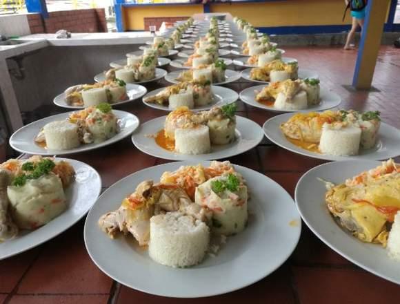 Alimentación todo tipo para Eventos Empresariales