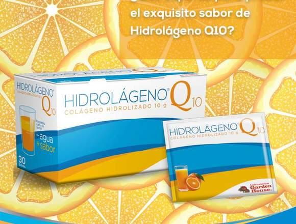 Colágeno Hidrolizado Con Q10 1caja 30 Sobres