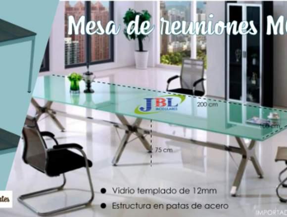 Mueble de Oficina Mesa de Reuniones M001