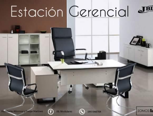 Mueble de Oficina Estacion Gerencial