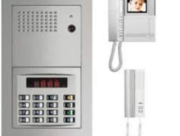 INTERCOMUNICADORES CCTV CHAPAS ELECTRICAS
