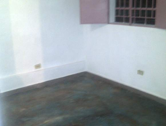 Apartamento tipo estudio con un área de 45 m2,