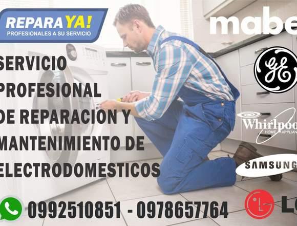 Reparación de electrodomestico todas las marcas