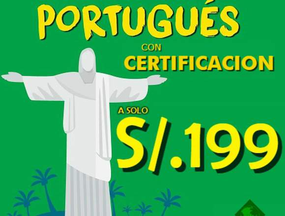 CLASES DE PORTUGUES EN LIMA CON CERTIFICACION