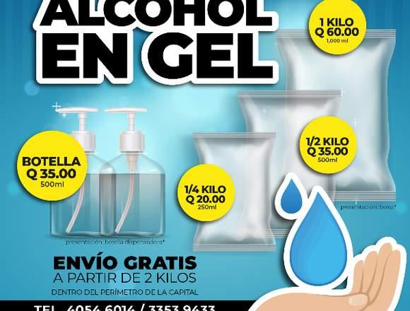 Alcohol en Gel, Antibacterial