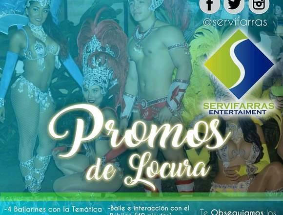 Hora Loca Guayaquil , Animadores, Servifarras
