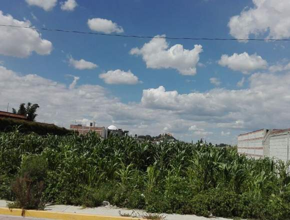 Vendo terreno, San Andres Cholula-San Rafael Comac