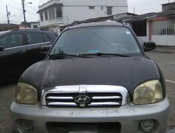 vendo carro hyundai santa fe año 2004