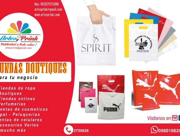 fundas boutiques con logo