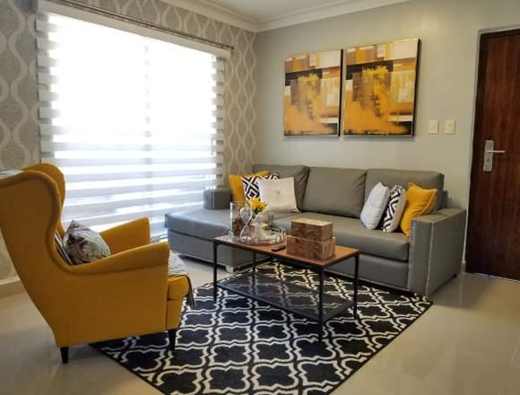 Rento amueblado hermoso apartamento en 6to piso