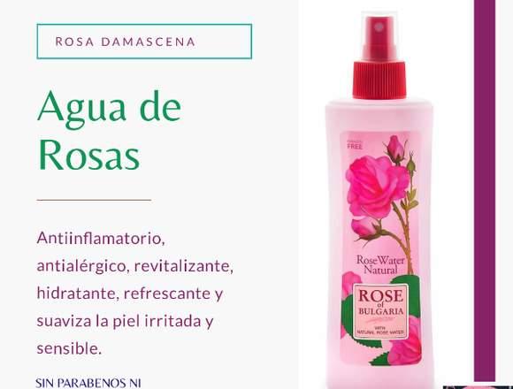 AGUA DE ROSAS DAMASCENA 230m