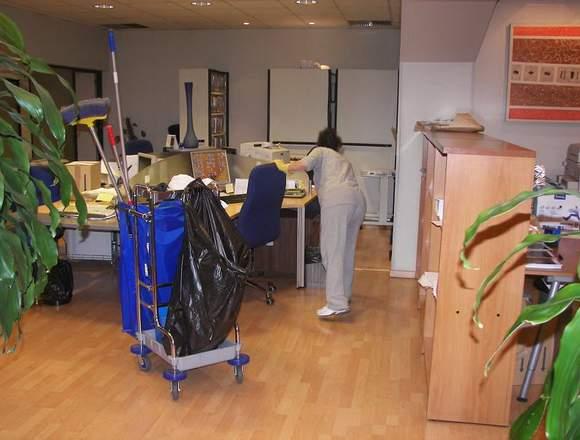 Limpieza profesional para oficinas