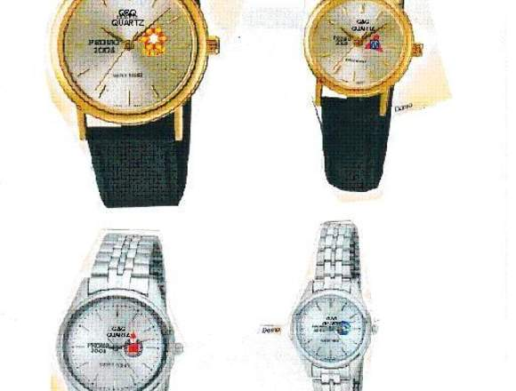 Relojes con logo o personalizados, publicitarios