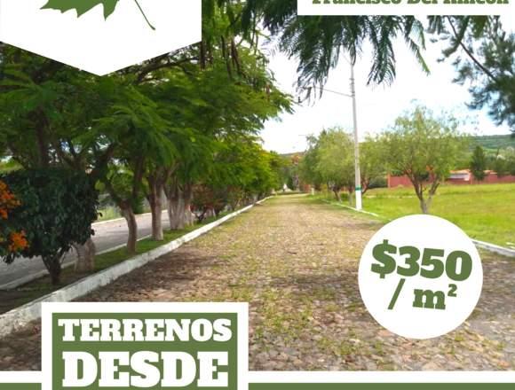 TERRENOS DESDE $5700 / MES 🏠