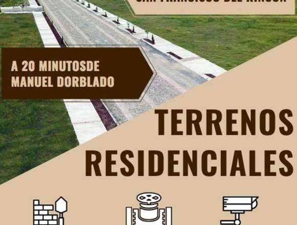 TERRENOS DESDE $1609 / MES  🏠