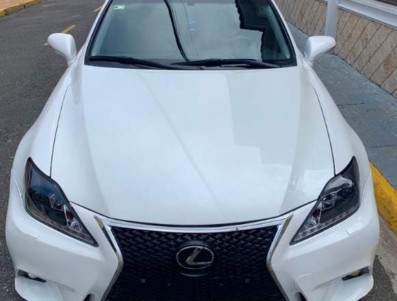 vendo lexus is 250 blanco año 2009 info aqui