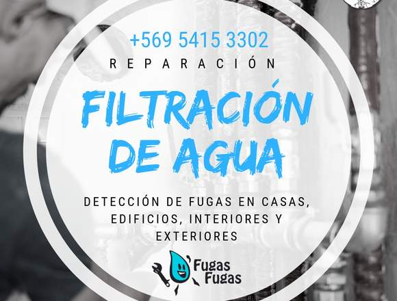 Detección de Filtraciones de Alcantarillado, Gas