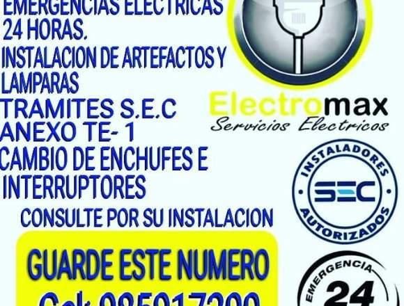 Electricista, Emergencias Electricas las 24 Horas