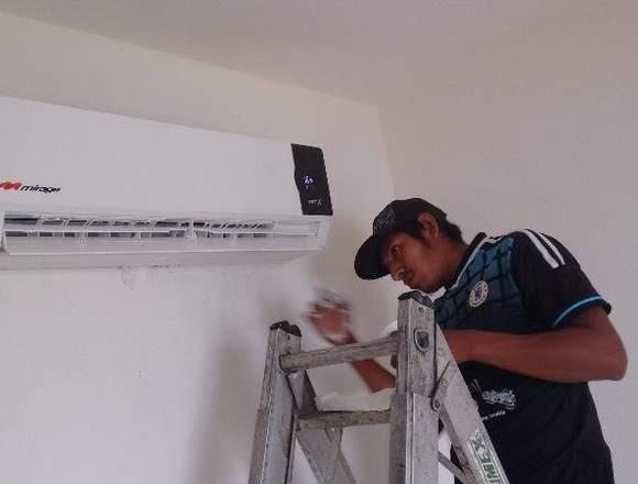 instalacion y reparacion de aires acondicionado