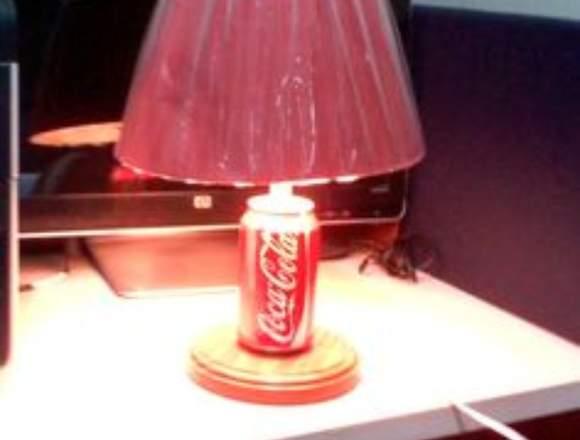 lamparas decorativas coca-cola
