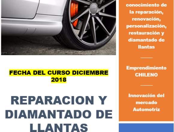 CURSO DE TORNO DIAMANTADOR Y REPARACIÓN DE LLANTAS