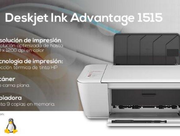 Impresora Hp Deskjet Ink Advantage 1515 (Nueva)