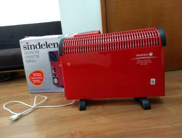Calefactor convector portátil