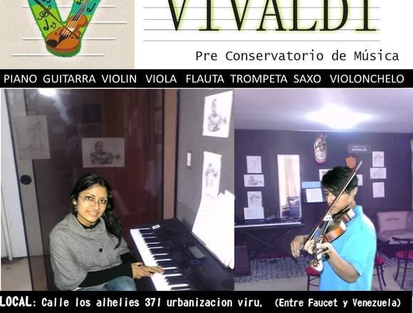 CLASES piano violin guitarra canto viola trompeta