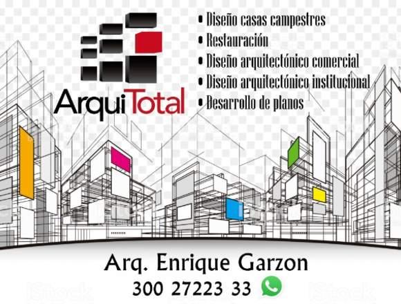 Diseño, elaboración de proyectos ARQUITECTONICOS