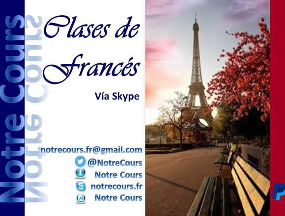 Clases de Francés vía Internet
