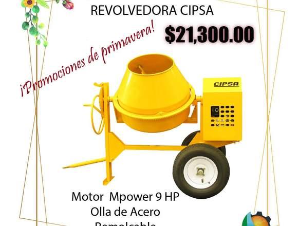 REVOLVEDORA CIPSA ULTRA 10 ECOMAQMX