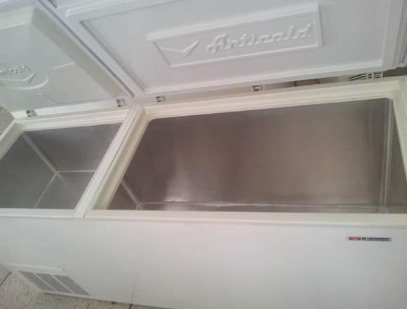 Congelador freezer horizontal dos puertas Articold