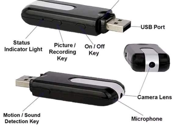 Pendrive cámara espía