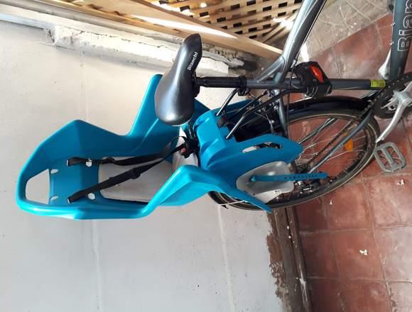 Bicicleta Bianchi Con silla para niñ@s
