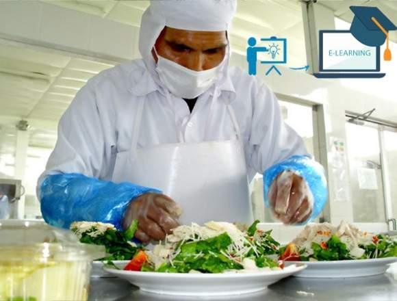 Manipulación De Alimentos E-learning (online).