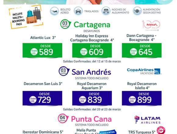 Viaje a Cartagena económico en familia