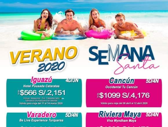 Viaje en Semana Santa verano 2020 barato
