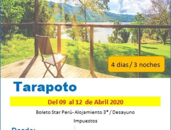 Viaje a Tarapoto semana santa 2020