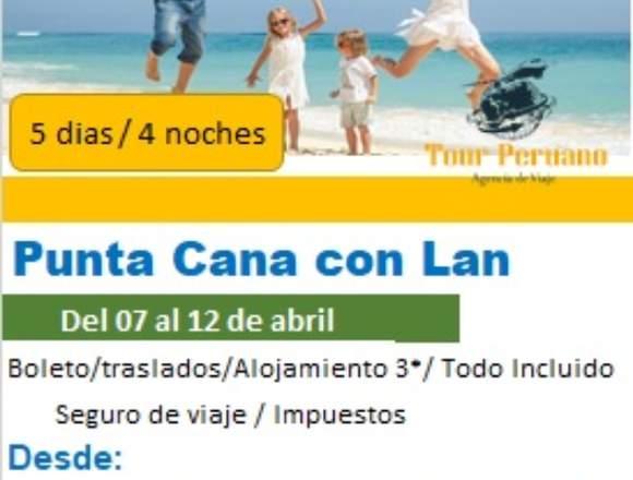 Viaje a Punta Cana desde Lima