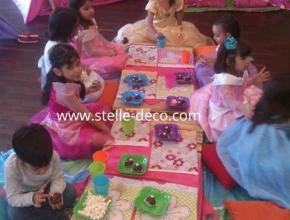 Pijamada teepee tipi carpas infantil picnic