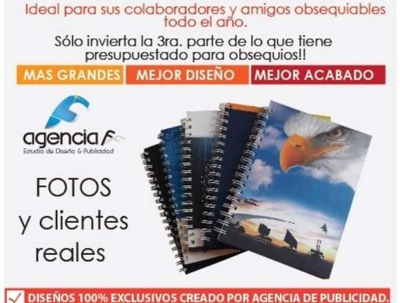 agendas cuadernos personalizados corporativos