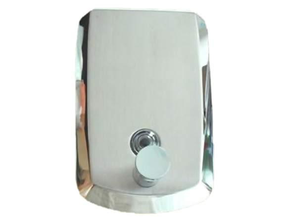 Dispensador De Jabón Liquido De 1lt En Acero Inox