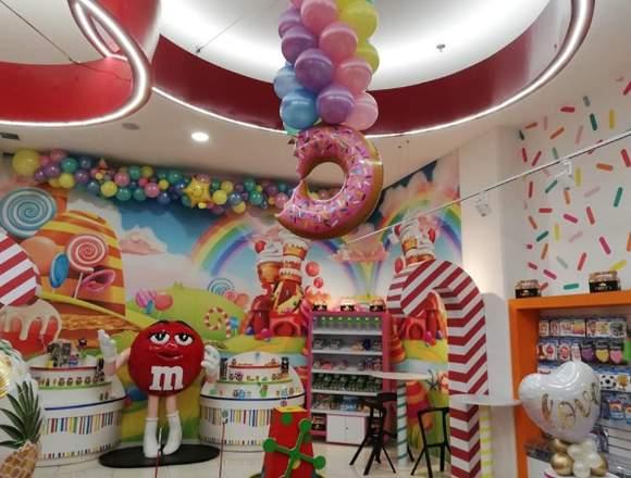 Globos y eventos- Candy's Factory