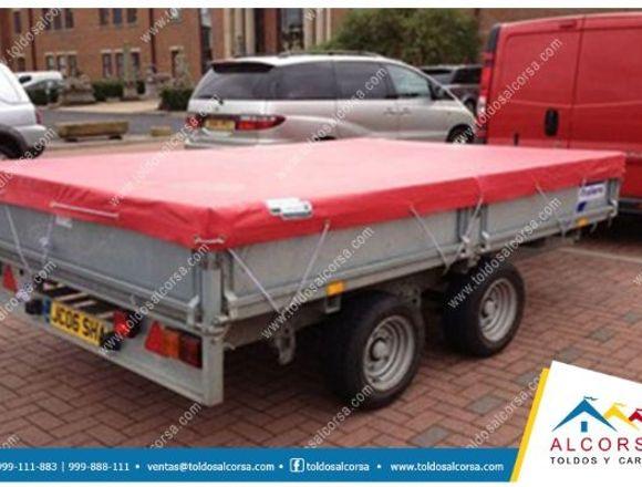 Coberturas de lona PVC para trailers