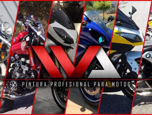 Pintura Profesional para Motos