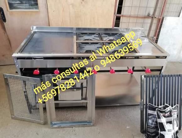 Cocinas industriales a medida